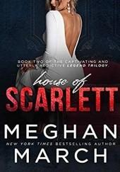 Okładka książki House of Scarlett Meghan March