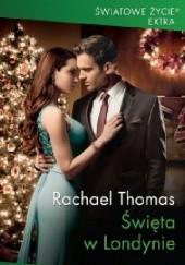 Okładka książki Święta w Londynie Rachael Thomas