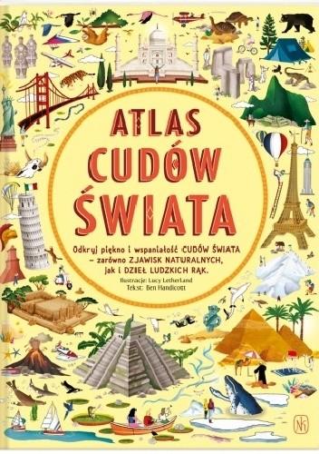 Okładka książki Atlas cudów świata Ben Handicott