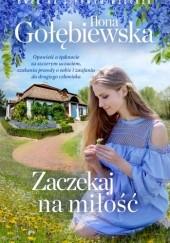 Okładka książki Zaczekaj na miłość Ilona Gołębiewska