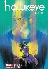 Okładka książki Hawkeye: Troje Jeff Lemire,Ramón Pérez