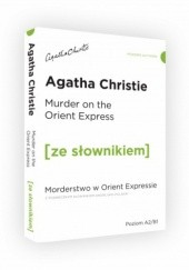 Okładka książki Murder on the Orient Express Agatha Christie