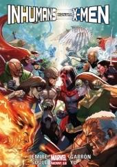 Okładka książki Inhumans kontra X-Men Jeff Lemire,Kenneth Rocafort,Javier Garrón,Charles Soule,Leinil Francis Yu