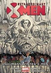 Okładka książki Extraordinary X-Men. Tom 4 - Inhumans kontra X-Men Jeff Lemire,Andrea Sorrentino,Victor Ibáñez,Eric Koda