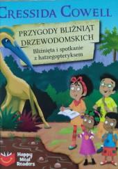 Okładka książki Przygody bliźniąt Drzewodomskich. Bliźnięta i spotkanie z hatzegopteryksem