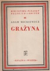 Okładka książki Grażyna