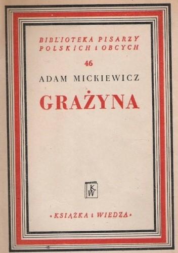 Okładka książki Grażyna Adam Mickiewicz