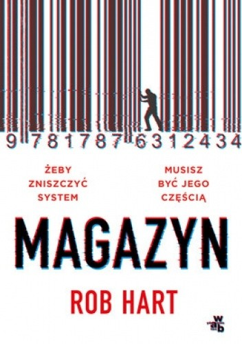 Okładka książki Magazyn Rob Hart