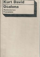 Okładka książki Ocalona Kurt David