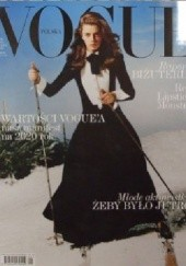 Okładka książki Vogue Polska, nr 23/styczeń 2020 Redakcja Magazynu Vogue Polska