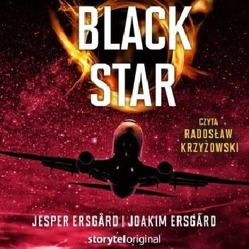 Okładka książki Black Star Jesper Ersgård,Joakim Ersgård