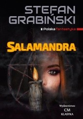 Okładka książki Salamandra Stefan Grabiński