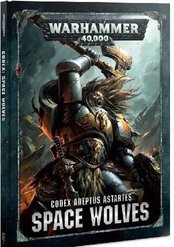 Okładka książki Codex Space Wolves Games Workshop