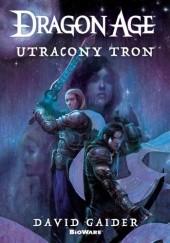 Okładka książki Dragon Age. Utracony tron