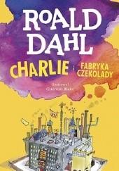 Okładka książki Charlie i fabryka czekolady Roald Dahl