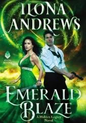 Okładka książki Emerald Blaze Ilona Andrews