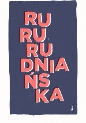 Okładka książki RuRu Joanna Rudniańska