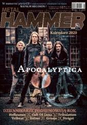 Okładka książki Metal Hammer nr 343 01/2020 Redakcja magazynu Metal Hammer