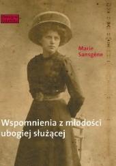 Okładka książki Wspomnienia z młodości ubogiej slużącej Marie Sansgene