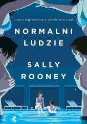 Okładka książki Normalni ludzie Sally Rooney