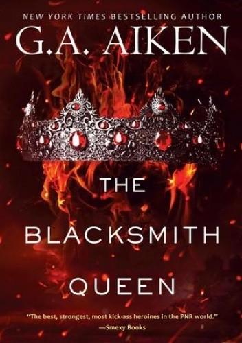 Okładka książki The Blacksmith Queen Shelly Laurenston
