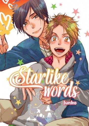 Okładka książki Starlike words Junko