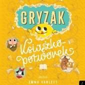 Okładka książki Gryzak. Książko -potworek. Emma Yarlett
