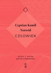 Okładka książki Człowiek Cyprian Kamil Norwid