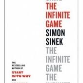 Okładka książki The Infinite Game Simon Sinek