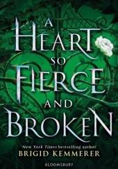 Okładka książki A Heart So Fierce and Broken Brigid Kemmerer