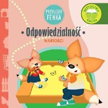 Okładka książki Przygody Fenka. Odpowiedzialność. Wartości. Konrad Sobik