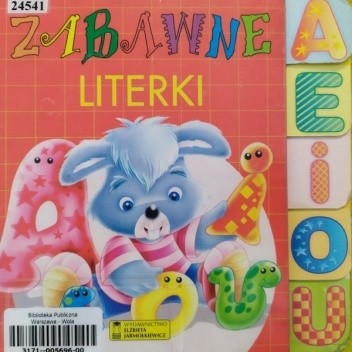 Okładka książki Zabawne LITERKI Andrzej Gordziejewski,Javier Inaraja