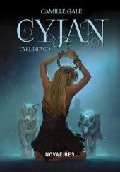 Okładka książki Cyjan Camille Gale