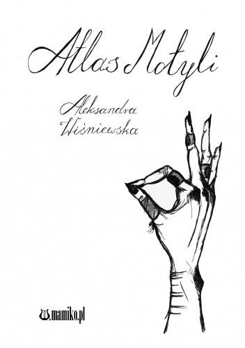 Okładka książki Atlas motyli Aleksandra Wiśniewska
