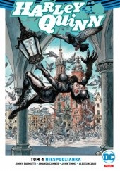 Okładka książki Harley Quinn: Niespodzianka Jimmy Palmiotti,Zbigniew Kasprzak,Amanda Conner,John Timms,Alex Sinclair