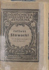 Okładka książki Juliusz Słowacki