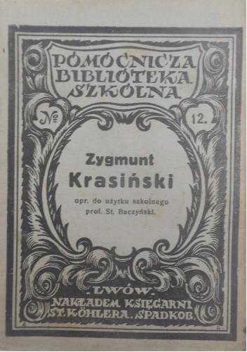 Okładka książki Zygmunt Krasiński Stanisław Baczyński
