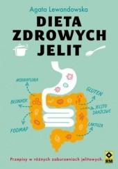 Okładka książki Dieta zdrowych jelit Agata Lewandowska