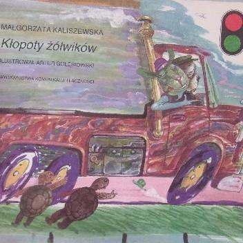 Okładka książki Kłopoty żółwików Małgorzata Kaliszewska