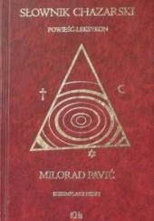 Okładka książki Słownik chazarski. Egzemplarz męski