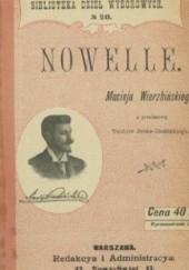 Okładka książki Nowelle