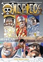 """Okładka książki One Piece tom 57 - Tę erę nazwę """"erą Białobrodego"""" Eiichiro Oda"""