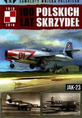 Okładka książki 100 Lat Polskich Skrzydeł - Jak-23 Jerzy Gruszczyński,Michał Fiszer
