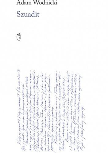 Okładka książki Szuadit Adam Wodnicki