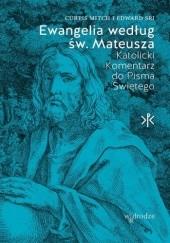 Okładka książki Ewangelia według św. Mateusza. Katolicki Komentarz do Pisma Świętego