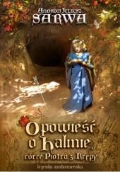 Okładka książki Opowieść o Halinie, córce Piotra z Krępy. Legenda sandomierska Andrzej Juliusz Sarwa