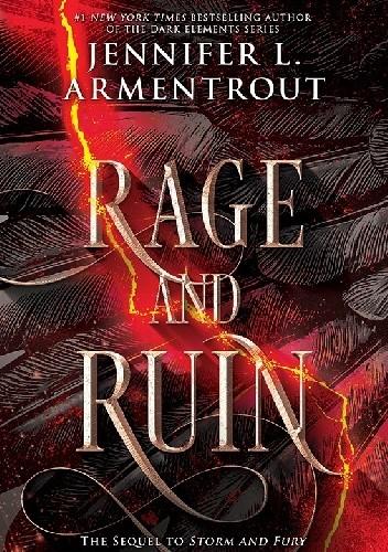 Okładka książki Rage and Ruin Jennifer L. Armentrout