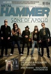 Okładka książki Metal Hammer nr 344 02/2020 Redakcja magazynu Metal Hammer