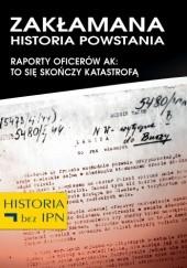 Okładka książki Zakłamana historia powstania IV Józef Stępień,Paweł Dybicz