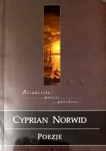 Okładka książki Poezje Cyprian Kamil Norwid
